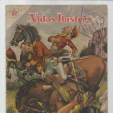 Livros de Banda Desenhada: VIDAS ILUSTRES 21: DON FRANCISCO MORAZÁN, 1957, NOVARO, BUEN ESTADO. COLECCIÓN A.T.. Lote 223689676
