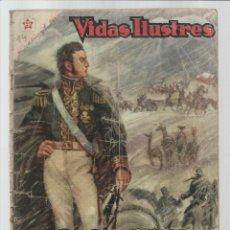 Livros de Banda Desenhada: VIDAS ILUSTRES 14: JOSÉ DE SAN MARTÍN, ESPADA DE LA LIBERTAD, 1957, NOVARO, USADO. COLECCIÓN A.T.. Lote 223690226