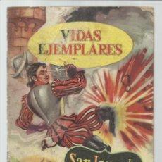 BDs: VIDAS EJEMPLARES 2: SAN IGNACIO DE LOYOLA, EL GRAN BATALLADOR, 1954, NOVARO. COLECCIÓN A.T.. Lote 223693556