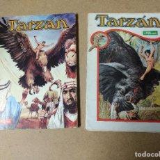 Tebeos: TARZAN - LIBRO COMIC NOVARO -LOTE 2 TOMOS X - XXX. Lote 223846955