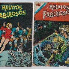 BDs: LOTE RELATOS FABULOSOS - SERIE ÁGUILA - Nº 169 Y 173 *** EDITORIAL NOVARO *** VER IMÁGENES.. Lote 223902632