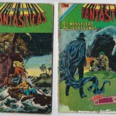 Tebeos: LOTE HISTORIAS FANTÁSTICAS - SERIE ÁGUILA - Nº 334, 355 Y 370 *** EDITORIAL NOVARO *** VER IMÁGENES.. Lote 223903285