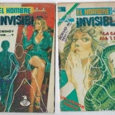 Tebeos: LOTE EL HOMBRE INVISIBLE - SERIE ÁGUILA ¡3 NROS! *** EDITORIAL NOVARO ** VER IMÁGENES. LEER DESCRIP. Lote 223913485