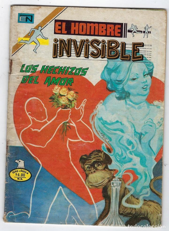Tebeos: LOTE EL HOMBRE INVISIBLE - SERIE ÁGUILA ¡3 NROS! *** EDITORIAL NOVARO ** VER IMÁGENES. LEER DESCRIP - Foto 3 - 223913485