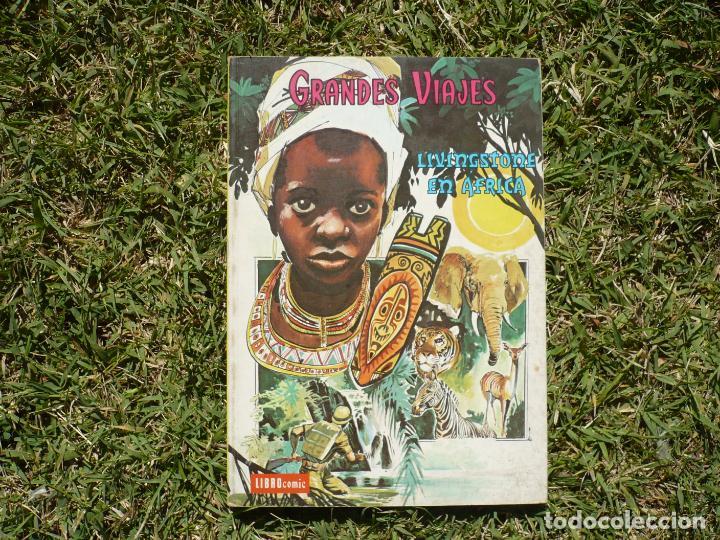 Tebeos: Grandes Viajes. Lote Tres Libro Cómic Novaro. - Foto 2 - 222434920