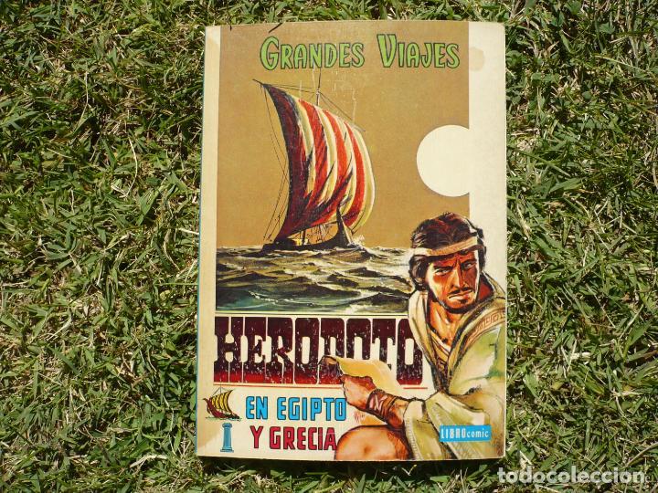 Tebeos: Grandes Viajes. Lote Tres Libro Cómic Novaro. - Foto 3 - 222434920