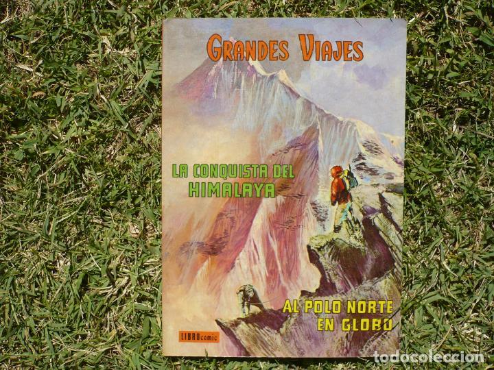 Tebeos: Grandes Viajes. Lote Tres Libro Cómic Novaro. - Foto 4 - 222434920