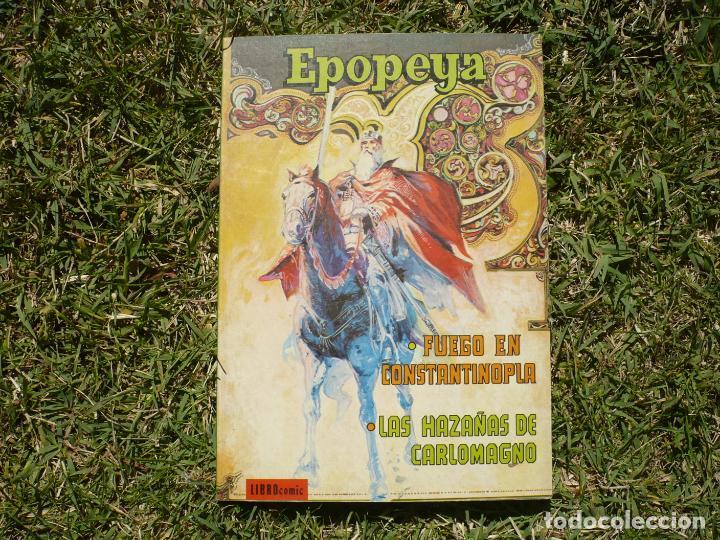 Tebeos: EPOPEYA. Lote Tres Libro Cómic Novaro. - Foto 3 - 222435552