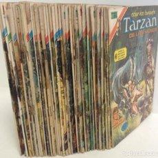 Tebeos: LOTE TARZAN DE LOS MONOS - SERIE ÁGUILA ¡37 NÚMEROS! * EDITORIAL NOVARO* VER IMÁGENES. LEER DESCRIP.. Lote 224040868
