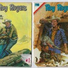 Tebeos: ROY ROGERS - SERIE ÁGUILA - DOS EJEMPLARES - NROS: 409 Y 418 *** EDITORIAL NOVARO ***. Lote 224157742