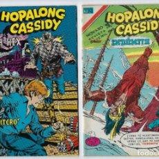 Tebeos: HOPALONG CASSIDY - SERIE ÁGUILA - DOS EJEMPLARES - NROS: 296 Y 310 *** EDITORIAL NOVARO ***. Lote 224158588