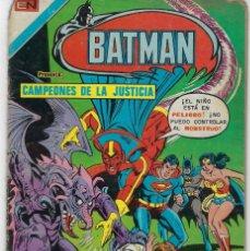 Tebeos: BATMAN- SERIE AVESTRUZ - AÑO I - N.º 3-3 - MARZO 3 DE 1981 *** EDITORIAL NOVARO MEXICO ***. Lote 224173663