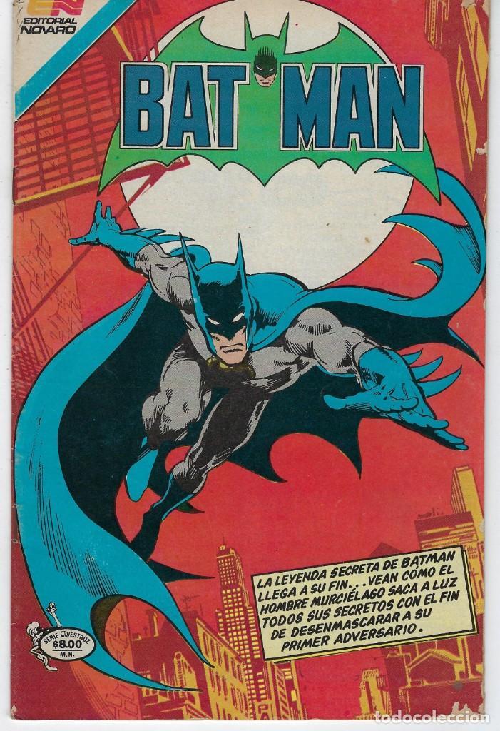 BATMAN- SERIE AVESTRUZ - AÑO I - N.º 3-15 - ENERO 12 DE 1982 *** EDITORIAL NOVARO MEXICO *** (Tebeos y Comics - Novaro - Batman)