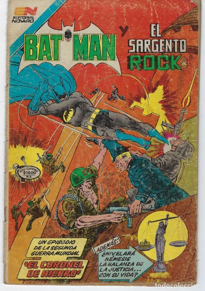 BATMAN- SERIE AVESTRUZ - AÑO I - N.º 3-25 - MAYO 25 DE 1982 *** EDITORIAL NOVARO MEXICO *** (Tebeos y Comics - Novaro - Batman)