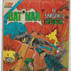 Tebeos: BATMAN- SERIE AVESTRUZ - AÑO I - N.º 3-25 - MAYO 25 DE 1982 *** EDITORIAL NOVARO MEXICO ***. Lote 224174385