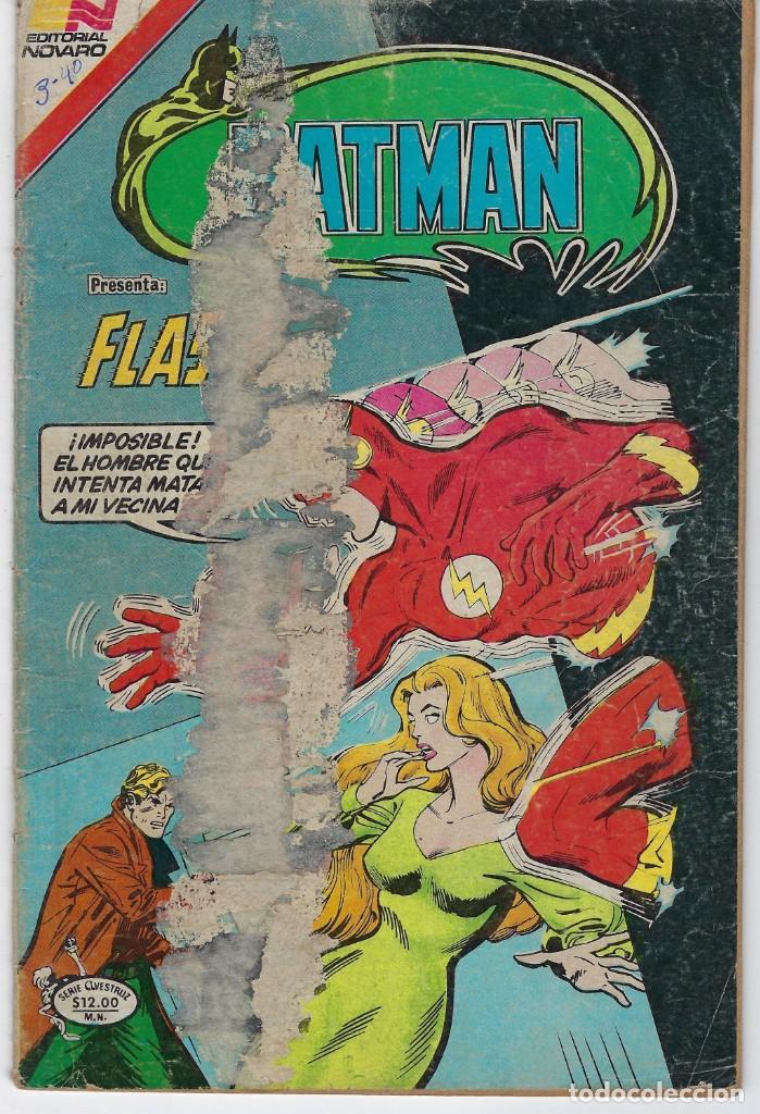 BATMAN- SERIE AVESTRUZ - AÑO III - N.º 3-40 - DICIEMBRE 23 DE 1982 *** EDITORIAL NOVARO MEXICO *** (Tebeos y Comics - Novaro - Batman)