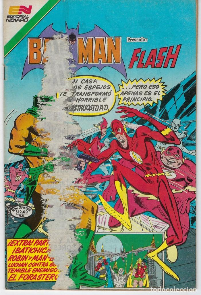 BATMAN- SERIE AVESTRUZ - AÑO III - N.º 3-44 - FEBRERO 18 DE 1983 *** EDITORIAL NOVARO MEXICO *** (Tebeos y Comics - Novaro - Batman)