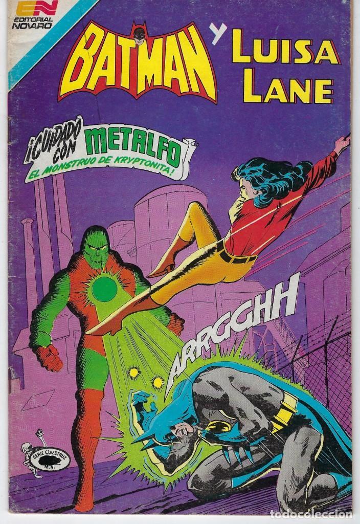 BATMAN - SERIE AVESTRUZ - AÑO III - N.º 3-45 - MARZO 2 DE 1983 *** EDITORIAL NOVARO MEXICO *** (Tebeos y Comics - Novaro - Batman)