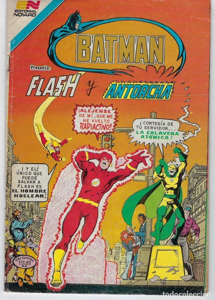 BATMAN - SERIE AVESTRUZ - AÑO III - N.º 3-46 - MARZO 15 DE 1983 *** EDITORIAL NOVARO MEXICO *** (Tebeos y Comics - Novaro - Batman)