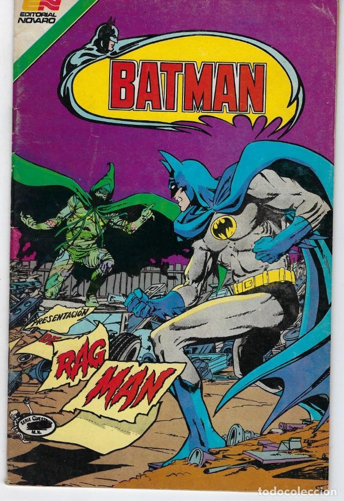 BATMAN - SERIE AVESTRUZ - AÑO III - N.º 3-47 - MARZO 25 DE 1983 *** EDITORIAL NOVARO MEXICO *** (Tebeos y Comics - Novaro - Batman)