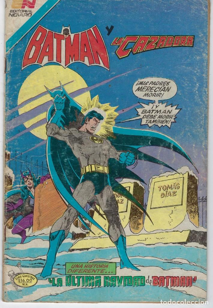 BATMAN - SERIE AVESTRUZ - AÑO III - N.º 3-53 - JUNIO 22 DE 1983 *** EDITORIAL NOVARO MEXICO *** (Tebeos y Comics - Novaro - Batman)