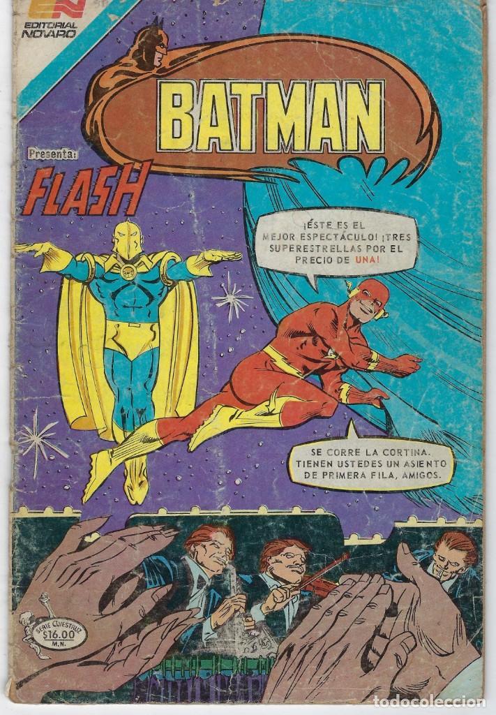 BATMAN - SERIE AVESTRUZ - AÑO III - N.º 3-56 - AGOSTO 2 DE 1983 *** EDITORIAL NOVARO MEXICO *** (Tebeos y Comics - Novaro - Batman)