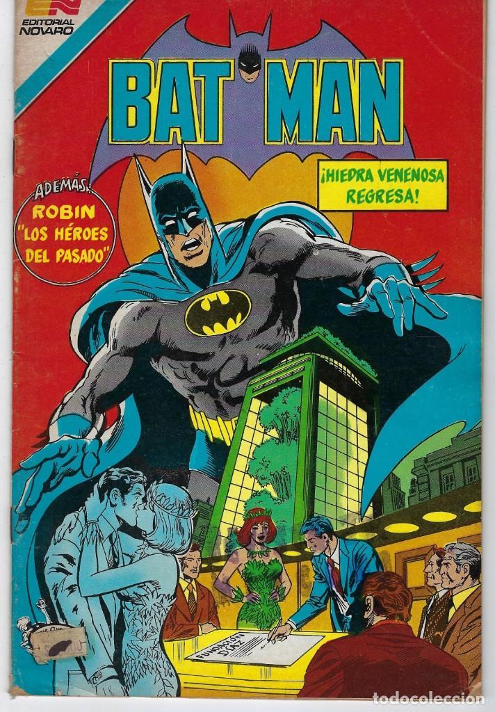 BATMAN - SERIE AVESTRUZ - AÑO III - N.º 3-59 - SEPTIEMBRE 14 DE 1983 *** EDITORIAL NOVARO MEXICO *** (Tebeos y Comics - Novaro - Batman)