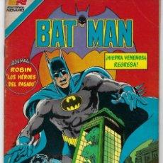 Tebeos: BATMAN - SERIE AVESTRUZ - AÑO III - N.º 3-59 - SEPTIEMBRE 14 DE 1983 *** EDITORIAL NOVARO MEXICO ***. Lote 224176326