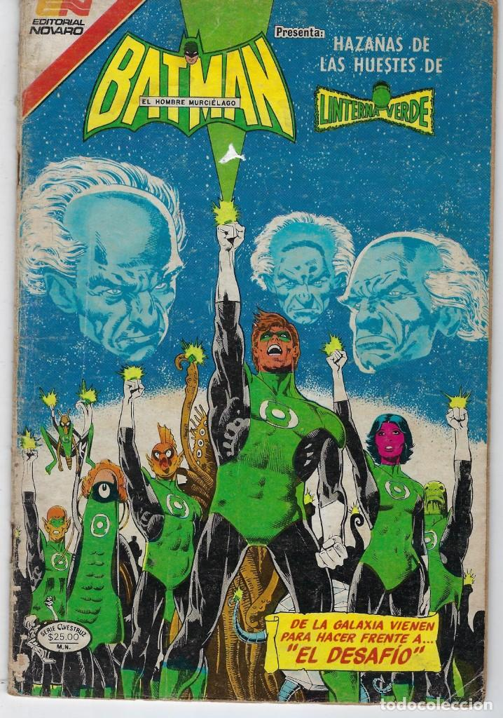 BATMAN - SERIE AVESTRUZ - AÑO III - N.º 3-60 - SEPTIEMBRE 30 DE 1983 *** EDITORIAL NOVARO MEXICO *** (Tebeos y Comics - Novaro - Batman)