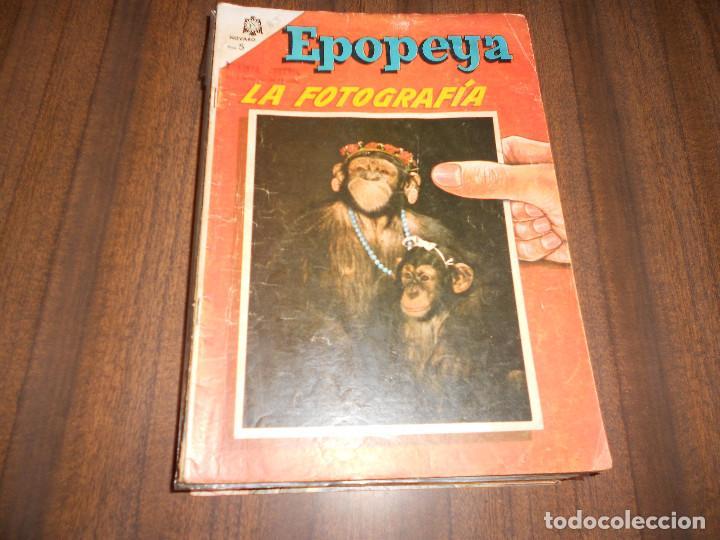 EPOPEYA. LOTE DE 15 NºS (Tebeos y Comics - Novaro - Epopeya)