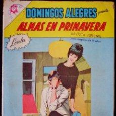 Tebeos: DOMINGOS ALEGRES Nº 634 - ALMAS DE PRIMAVERA - NOVARO 1966. Lote 224686521