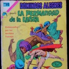 Tebeos: DOMINGOS ALEGRES Nº 972 - LA HERMANDAD DE LA LANZA - NOVARO 1972. Lote 224686543
