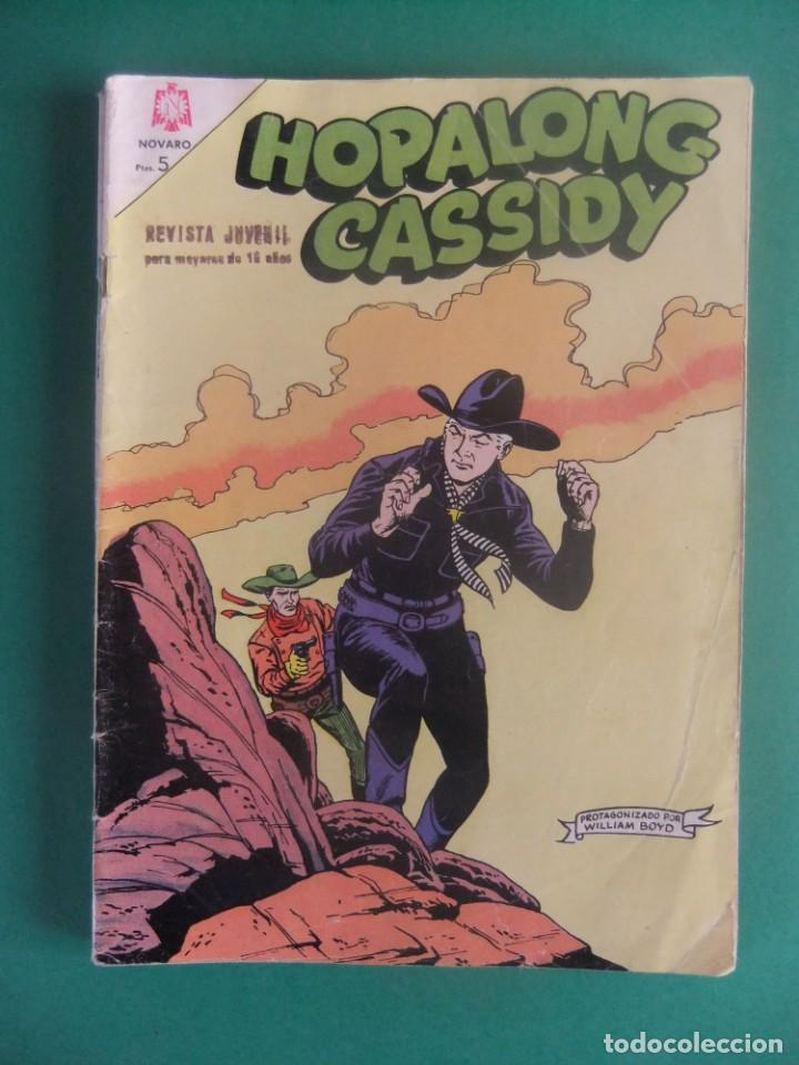 HOPALONG CASSIDY Nº 120 EDITORIAL NOVARO (Tebeos y Comics - Novaro - Hopalong Cassidy)