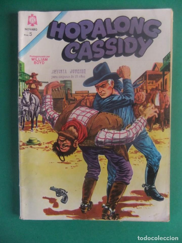 HOPALONG CASSIDY Nº 115 EDITORIAL NOVARO (Tebeos y Comics - Novaro - Hopalong Cassidy)