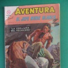 Tebeos: AVENTURA Nº 334 EL JEFE NUBE BLANCA EDITORIAL NOVARO. Lote 224848667