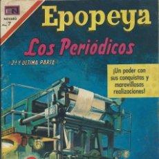 Tebeos: EPOPEYA Nº 143 NOVARO. Lote 224886278