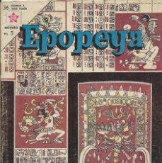 Tebeos: EPOPEYA Nº 63 NOVARO. Lote 224886341