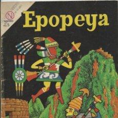 Tebeos: EPOPEYA Nº 72 EL MISTERIO DE MACHU-PICHU NOVARO. Lote 224886648