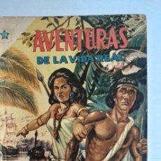 Tebeos: AVENTURAS DE LA VIDA REAL 19 LA EPOPEYA DEL AMAZONAS NOVARO. Lote 224906167