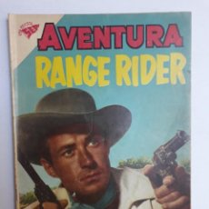 Tebeos: AVENTURA Nº 127 - RANGE RIDER - ORIGINAL EDITORIAL NOVARO. Lote 224971126