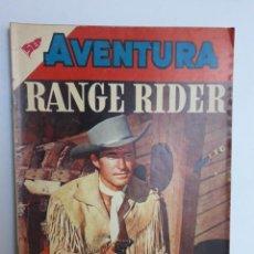 Tebeos: AVENTURA Nº 122 - RANGE RIDER - ORIGINAL EDITORIAL NOVARO. Lote 224971550