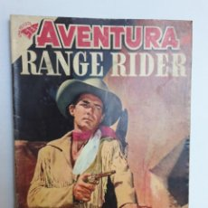 Tebeos: AVENTURA Nº 109 - RANGE RIDER - ORIGINAL EDITORIAL NOVARO. Lote 224972335