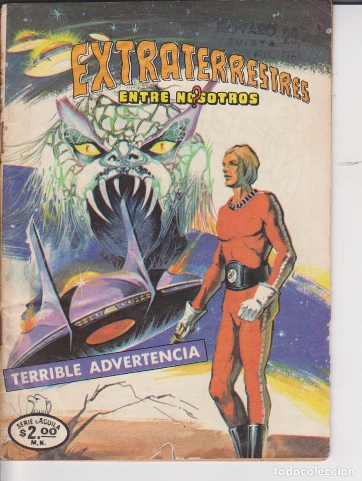 COMIC COLECCION EXTRATERRESTRE ENTRE NOSOTROS SERIE AGUILA Nº 3 (Tebeos y Comics - Novaro - Sci-Fi)