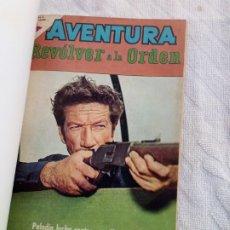 Livros de Banda Desenhada: AVENTURA:REVOLVER A LA ORDEN.LOTE DE 8 TEBEOS OESTE Y 1 TOMAJAUK Nº 95.EN UN TOMO.NOVARO. Lote 225577351