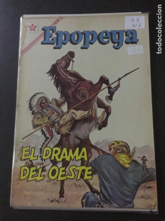 NOVARO EPOPEYA NUMERO 45 NORMAL ESTADO (Tebeos y Comics - Novaro - Epopeya)