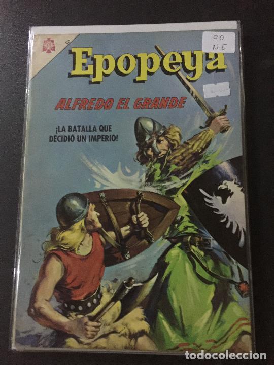 NOVARO EPOPEYA NUMERO 90 NORMAL ESTADO (Tebeos y Comics - Novaro - Epopeya)