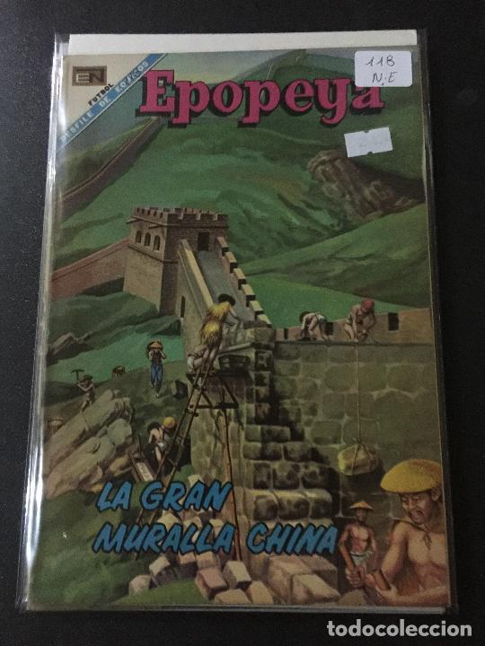 NOVARO EPOPEYA NUMERO 118 NORMAL ESTADO (Tebeos y Comics - Novaro - Epopeya)
