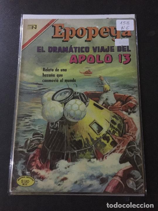 NOVARO EPOPEYA NUMERO 158 NORMAL ESTADO (Tebeos y Comics - Novaro - Epopeya)