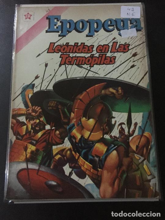 NOVARO EPOPEYA NUMERO 42 NORMAL ESTADO (Tebeos y Comics - Novaro - Epopeya)