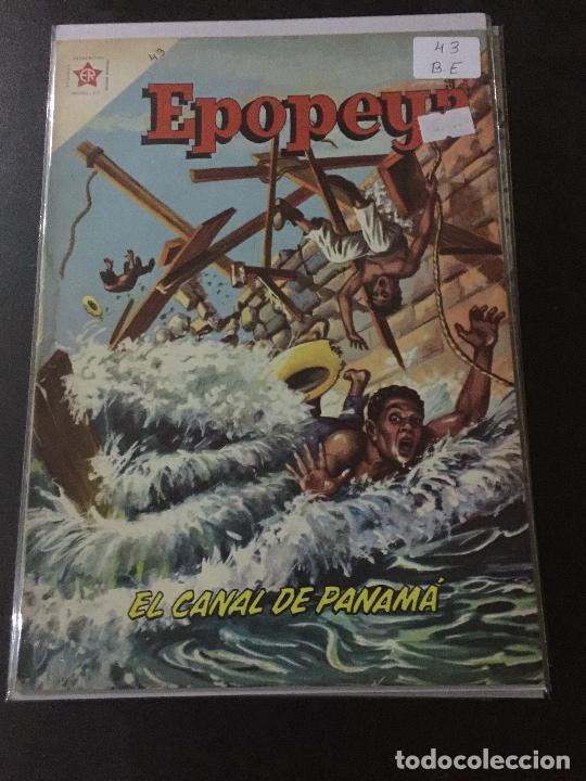 NOVARO EPOPEYA NUMERO 43 BUEN ESTADO (Tebeos y Comics - Novaro - Epopeya)